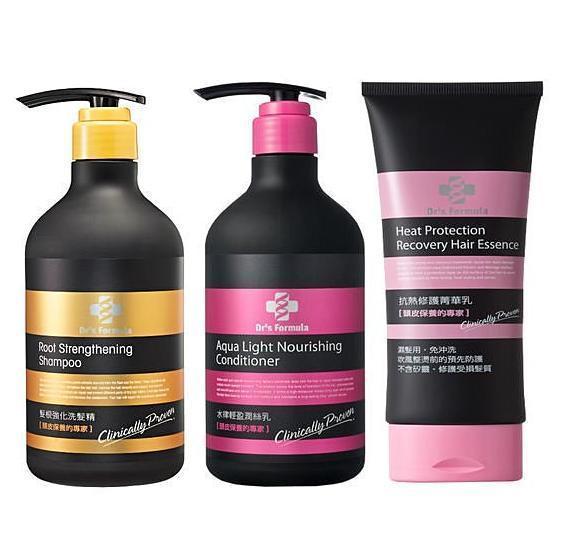 【購購購】台塑生醫 髮根強化洗髮精580ml+水律輕盈潤絲乳530ml+ 抗熱修護菁華乳160ml