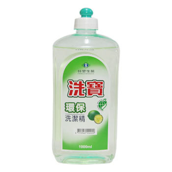 【購購購】台塑生醫 洗寶環保標章洗潔精1000ml (拉頭)