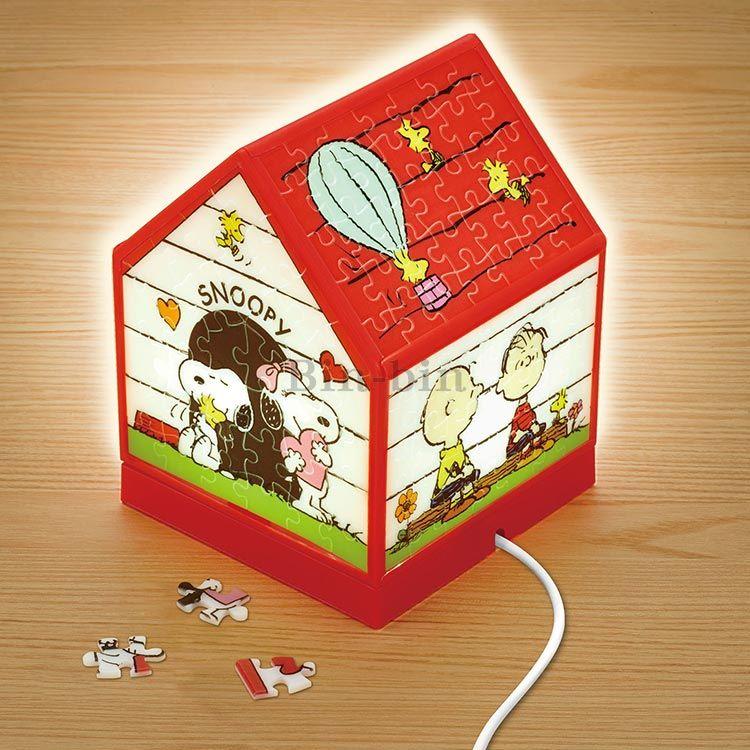 史努比 USB聲控拼圖小夜燈/049-962