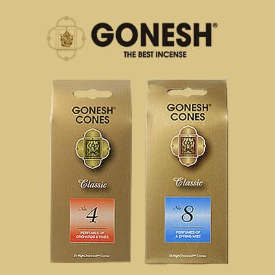美國 GONESH 精油香塔 4號/8號 25入 2款供選 另精油線香【特價】§異國精品§