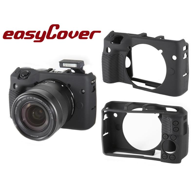 ◎相機專家◎ easyCover 金鐘套 Canon M3 機身適用 果凍 矽膠 防塵 保護套 公司貨 另有 5D 6D