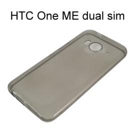 超薄透明軟殼 [透灰] HTC One ME dual sim