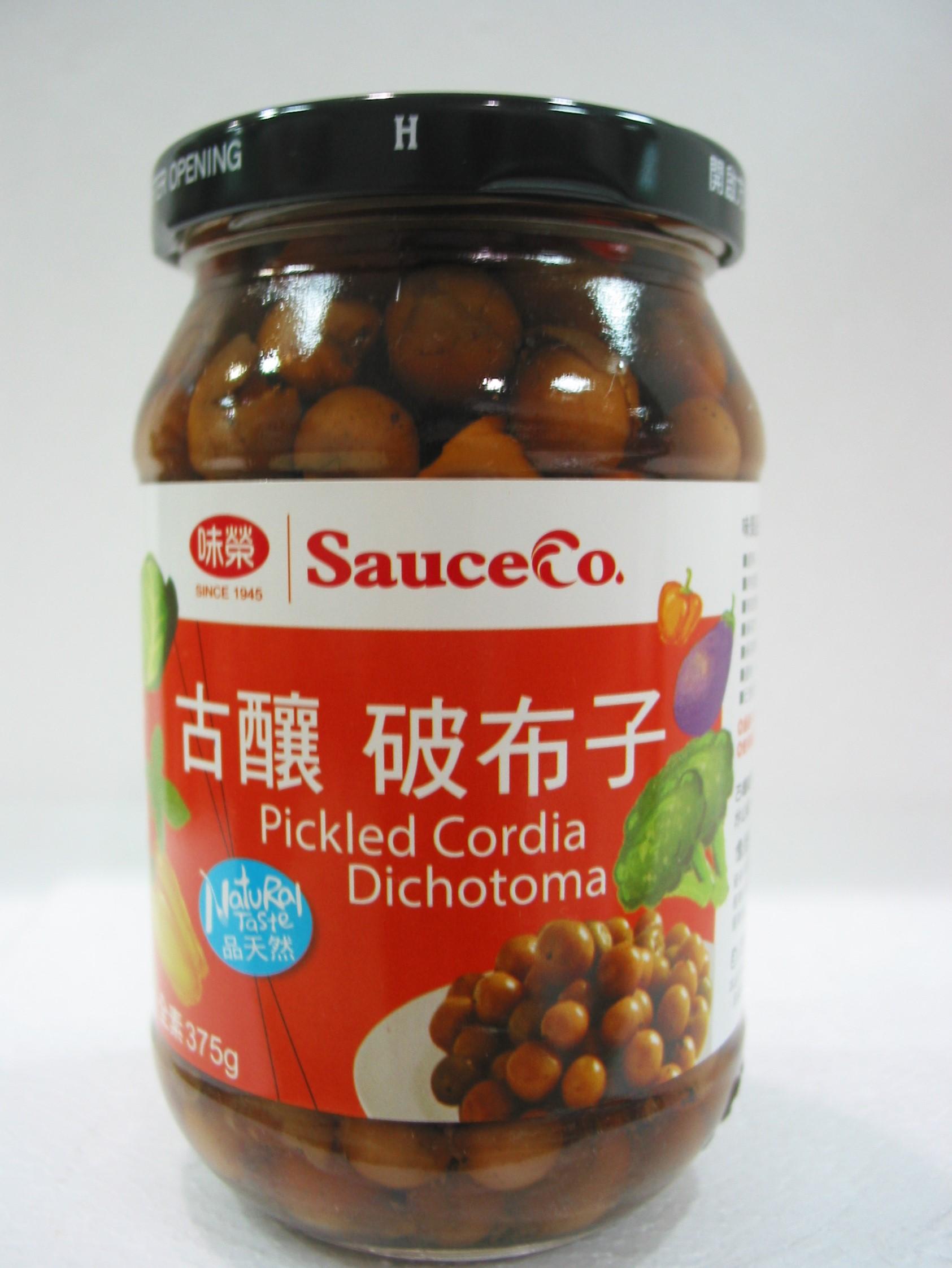 味榮~天然破布子375公克/罐 (全素)