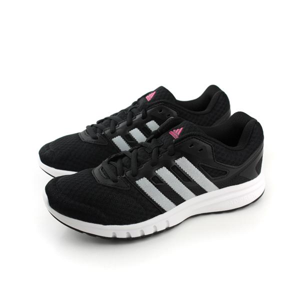 adidas galaxy 2 w 跑鞋 女鞋 黑白色 no314