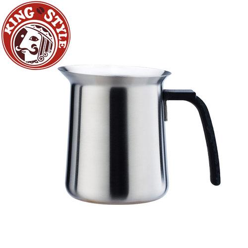 金時代書香咖啡 Tiamo 優質不鏽鋼 好握 600ml 拉花杯