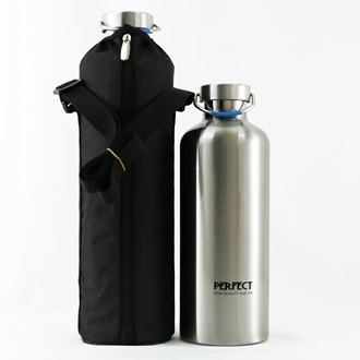 【珍昕】 極緻316不鏽鋼經典真空保溫瓶系列~附保溫背袋(2尺寸1500cc.2000cc)