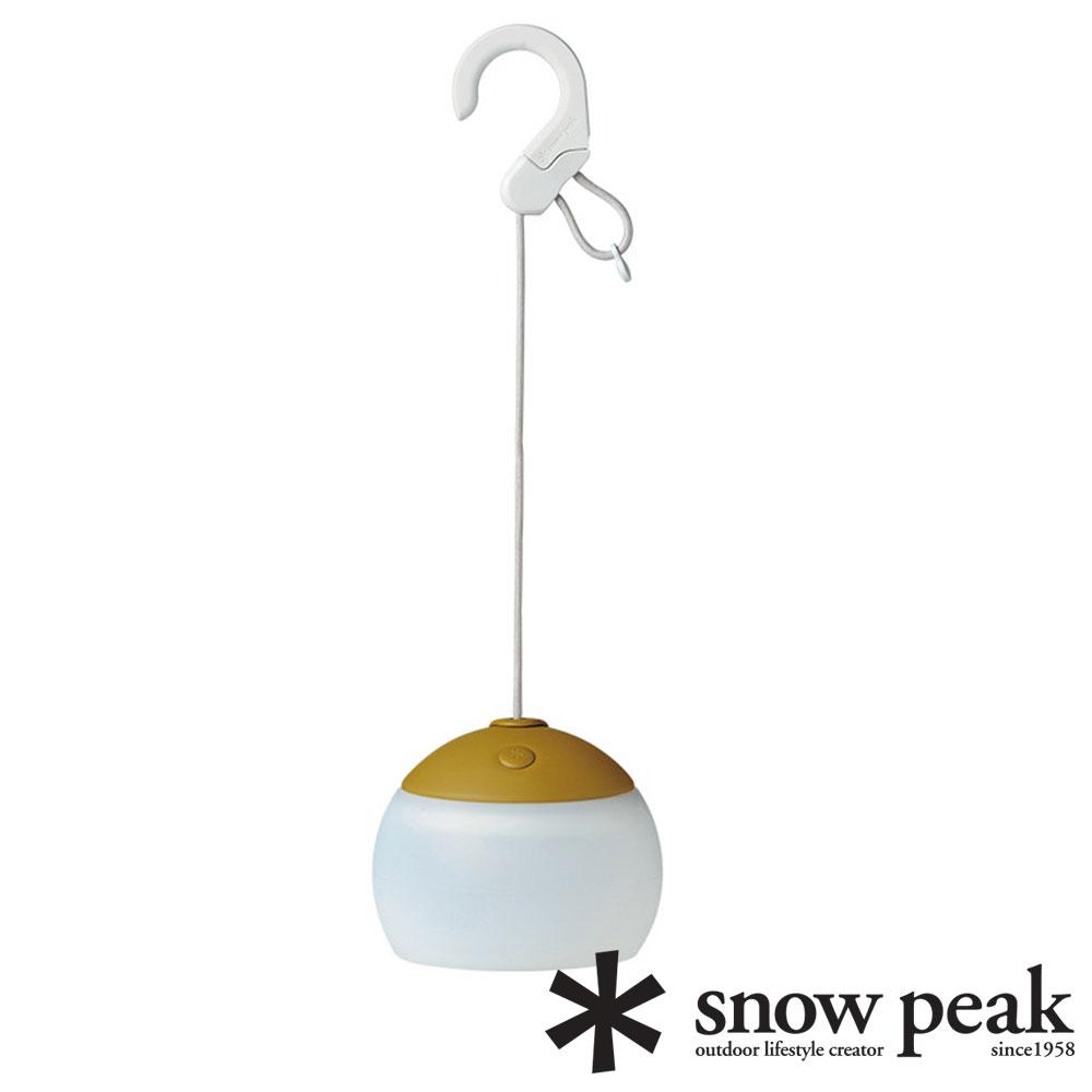 【snow peak 日本】充電式燈籠花 綠色 ES-070GR 露營 戶外 營燈 氣氛燈 夜燈 吊燈 餐桌燈