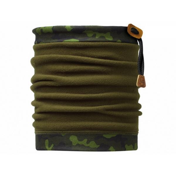 ├登山樂┤BUFF 抽繩POLAR保暖頭巾 經典迷彩 #BF107916