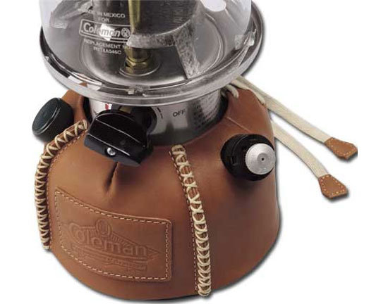 ├登山樂┤美國 Coleman Leather Fount Cover 手工牛皮 紀念燈油箱皮套 # CM9110J