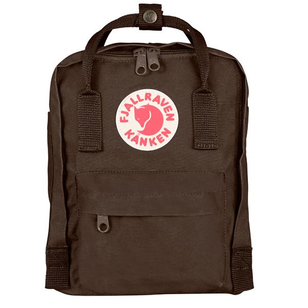 ├登山樂┤瑞典Fjallraven Kanken Mini 復古後背包/方型書包 # 23561 (290 Brown/棕)