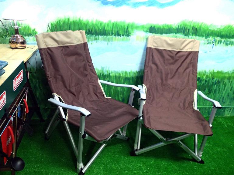 ├登山樂┤兩張特賣價! 優質無標商品 舒適 巨川椅 鋁合金折疊椅 摺疊椅 休閒椅 帆布高背椅 白金扶手椅