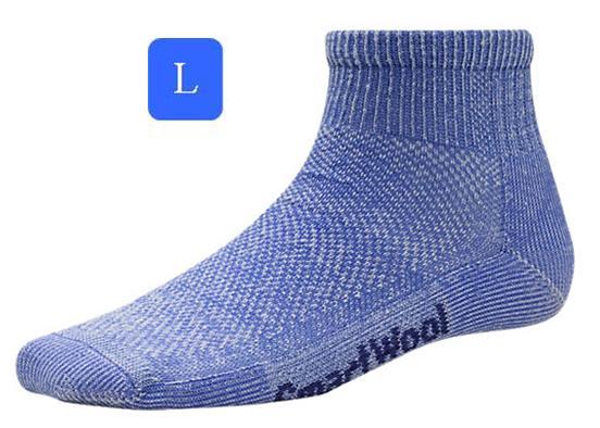 ├登山樂┤美國 Smartwool 女- Hike Ultra Light Mini Sock 美麗諾羊毛 輕薄短筒登山襪(藍/L) # SW452