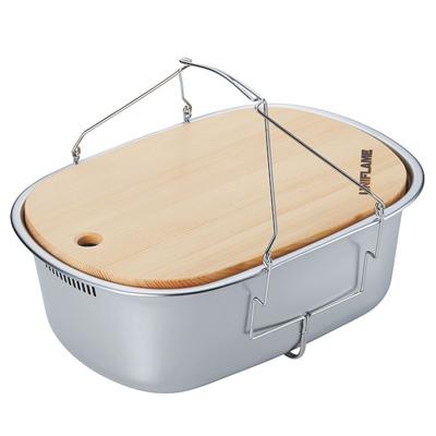 ├登山樂┤日本 UNIFLAME 不鏽鋼洗槽附砧板6L  #U660416