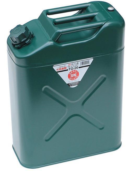 ├登山樂┤日本 YAZAWA 軍規級儲油桶20L # TG-20 (新型號CGT-20)