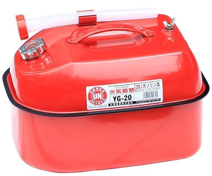 ├登山樂┤日本 YAZAWA 儲油桶20L # YG-20