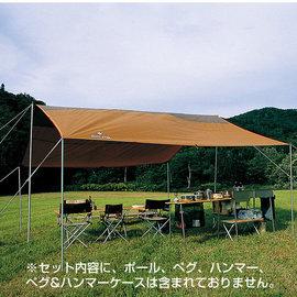 ├登山樂┤日本Snow Peak 方形天幕帳 -L基本組 80×17×22cm#TP-742