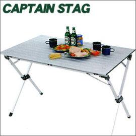 ├登山樂┤日本Captain Stag 鹿牌 4~6人蛋捲桌 # M-3768 歡迎自取