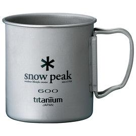 ├登山樂┤日本Snow Peak 鈦金屬單層杯折疊把手 600ml # MG-044