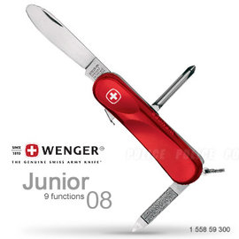 ├登山樂┤瑞士 Wenger 九用瑞士刀 #JUNIOR 08