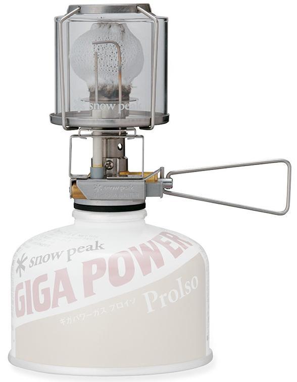 ├登山樂┤日本Snow Peak  GP自動點火小型瓦斯燈(附一個收納盒加一個燈蕊) # GL-100A