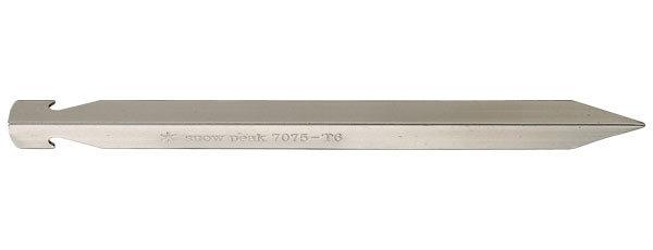 ├登山樂┤日本Snow PeakV型鋁質 輕量 登山營釘 # R-045