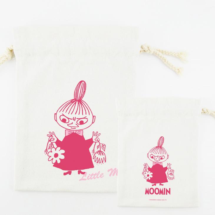 Moomin嚕嚕米授權 - 束口袋:【 Little My 】