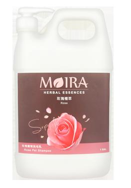 ★優逗★ MOIRA 莫依拉 玫瑰植萃 洗毛精 1加侖