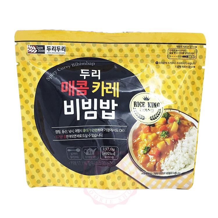 韓國 DOORI DOORI 石鍋拌飯 咖哩口味(137g)【庫奇小舖】