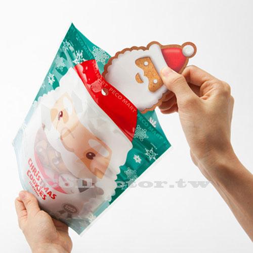 【L14121401】聖誕老人/薑餅人/餅乾留言便條紙 聖誕許願卡 聖誕樹裝飾