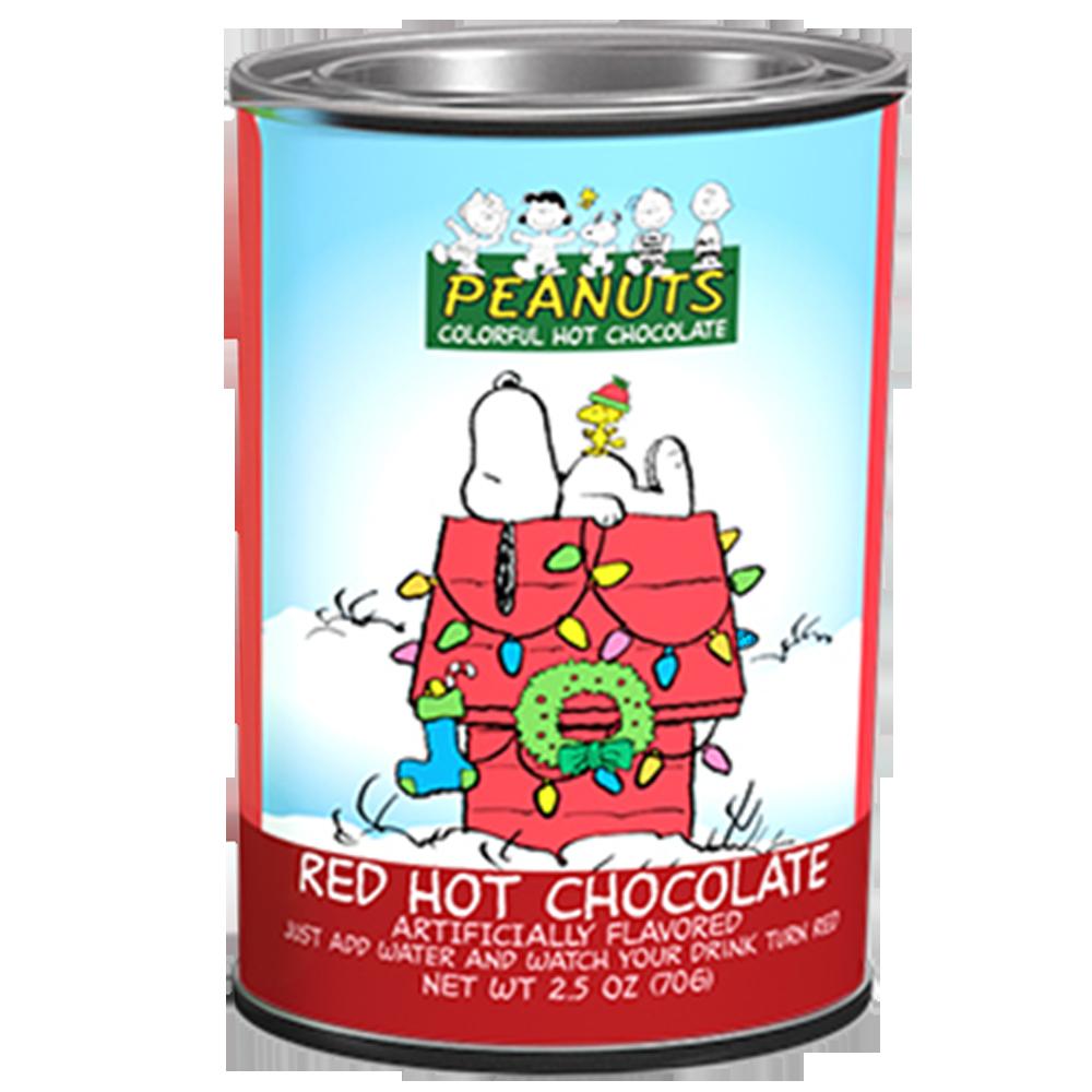 美國進口 PEANUTS 紅魔法熱巧克力粉70g(2.5oz)