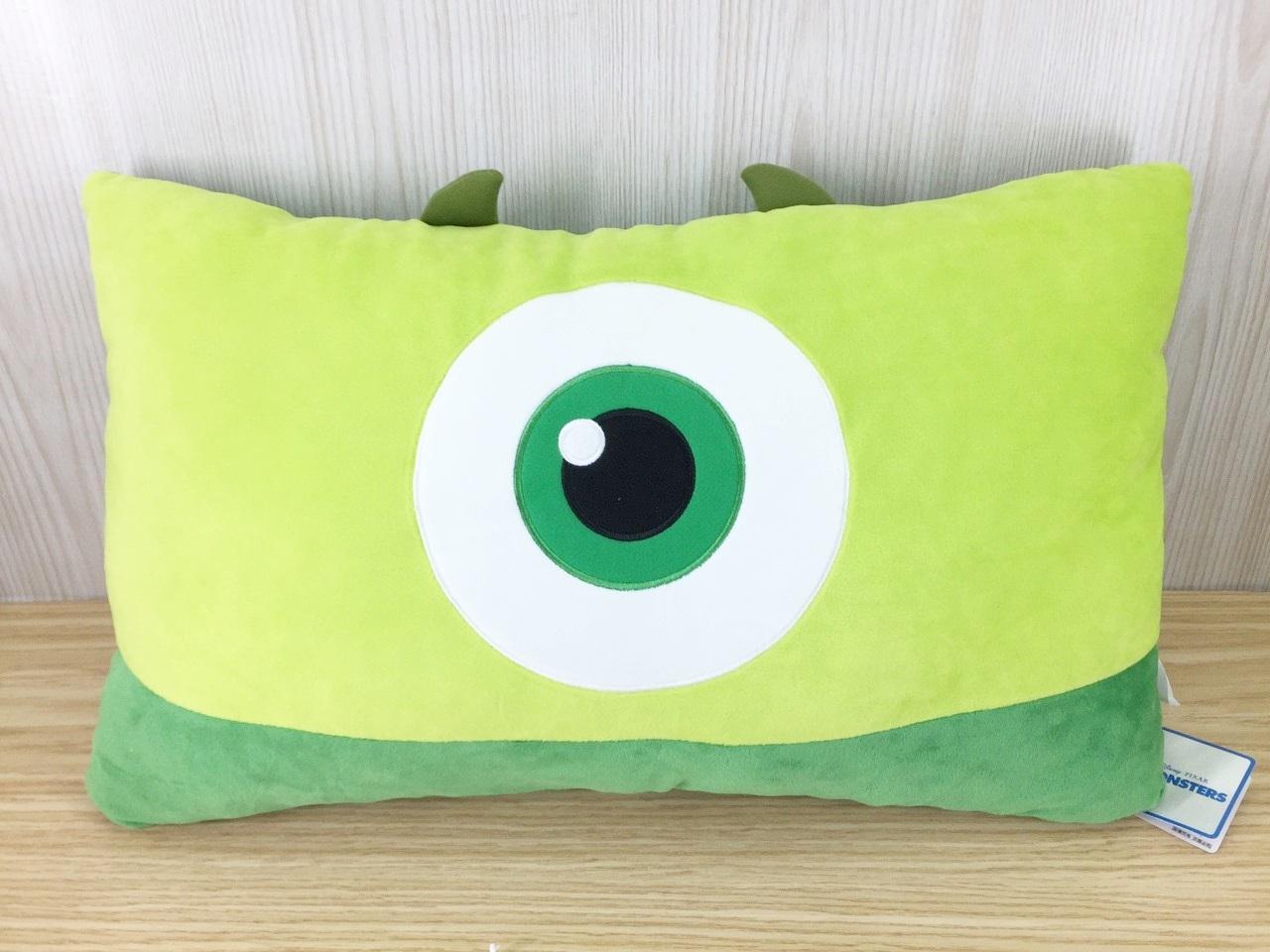 【真愛日本】15121700026 大臉雙人枕-大眼怪   迪士尼 星際寶貝 史迪奇 抱枕 靠枕 枕頭 娃娃
