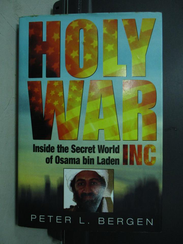 【書寶二手書T8/原文小說_QMJ】HOLY WAR_Peter L. Bergen