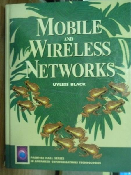 【書寶二手書T3/大學資訊_PJA】Mobile and wireless networks_Black