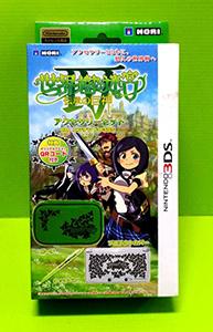 [現金價]  3DS HORI 世界樹的迷宮4 配件包 內含主機包 保護殼 觸控筆 3DS-121