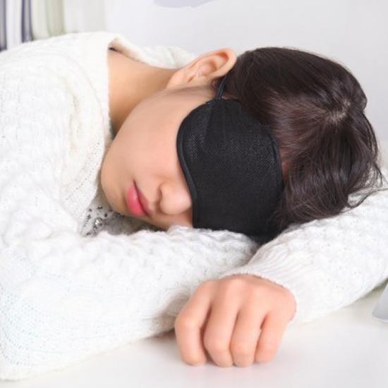 ♚MY COLOR♚絲質遮光睡眠眼罩 出差 旅行 休息 護眼 飛機 午休 便攜 透氣 長途 弧形 舒適 【J120-1】