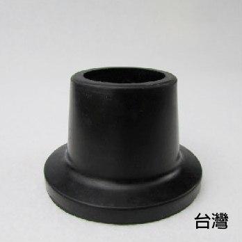 橡膠腳套 腳墊 -  [878A] 孔徑2.7cm 高3.8cm 黑色 2個入 洗澡椅使用 老人用品 銀髮族
