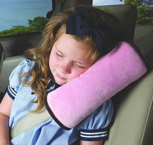 PS Mall 超大兒童汽車安全帶兒童靠枕卡通安全護肩兒童安全用品【J924】