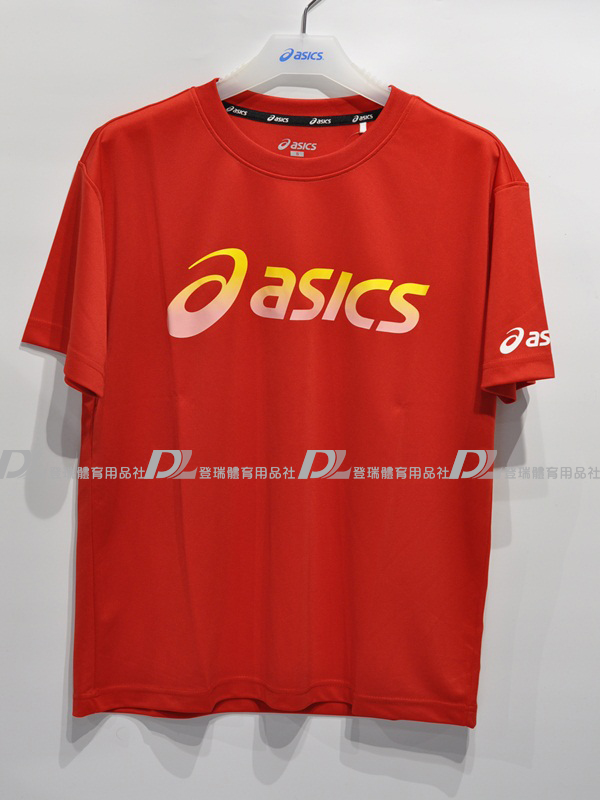 【登瑞體育】ASICS亞瑟士男女運動短袖排汗T恤-K3160123