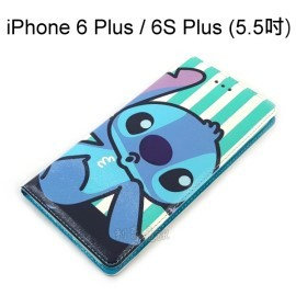 迪士尼彩繪皮套 [嘟嘴] 史迪奇 iPhone 6 Plus / 6S Plus (5.5吋)【Disney正版授權】