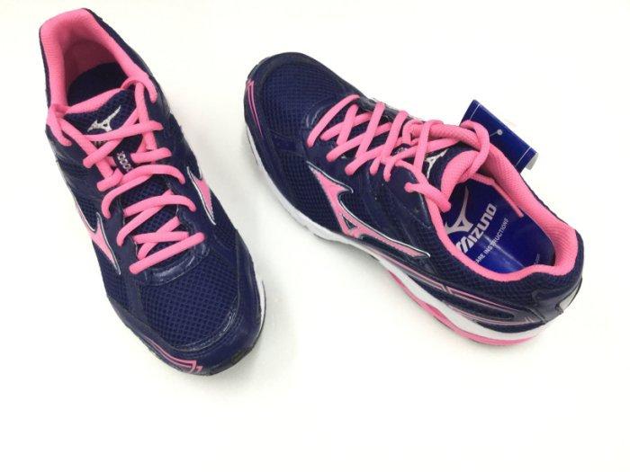 ※555鞋※Mizuno 281171 深藍色 輕量慢跑鞋 吸震 透氣※送襪子一雙~