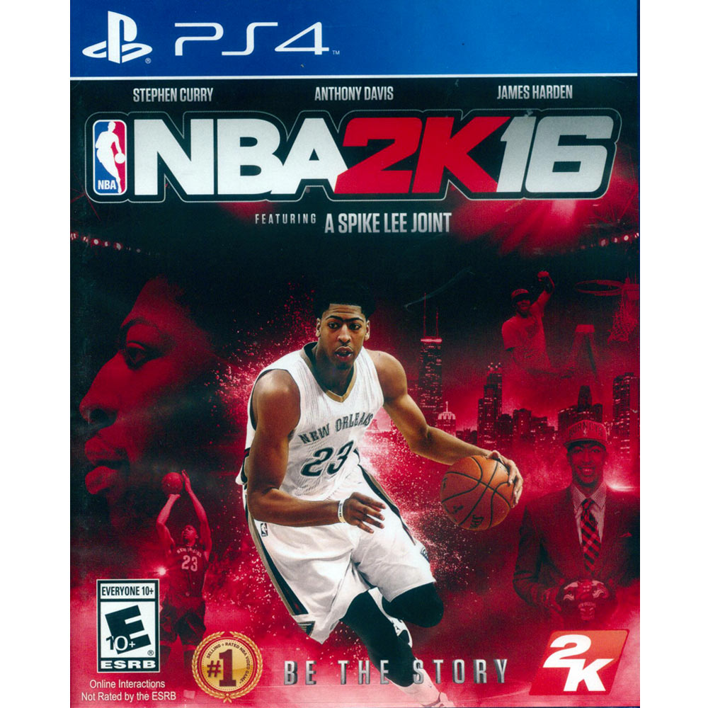 PS4 勁爆美國職籃 2K16 中英文美版 NBA 2K16