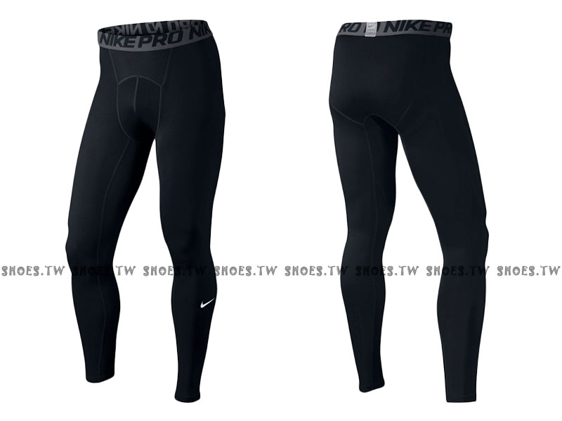 Shoestw【703098-010】NIKE PRO DRI-FIT 緊身束褲 長束褲 排汗 黑色 2016新版
