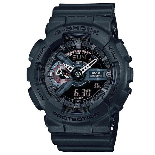 CASIO G-SHOCK GA-110MB-1狂野極黑流行腕錶/51mm