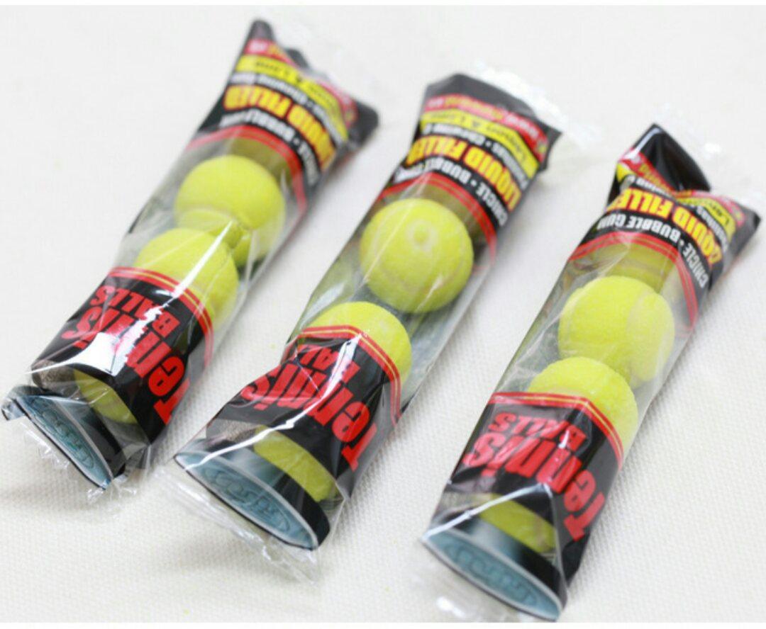 有樂町進口食品 網球口香糖 檸檬萊姆口味 條/4顆 20g 8410525180200