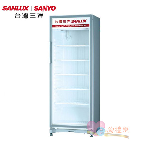 淘禮網 SANLUX 台灣三洋   305公升直立式冷藏櫃  SRM-305