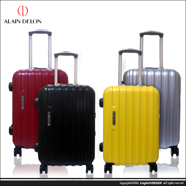 【ALAIN DELON】29吋 雅仕鋁框海關鎖旅行箱/行李箱4729