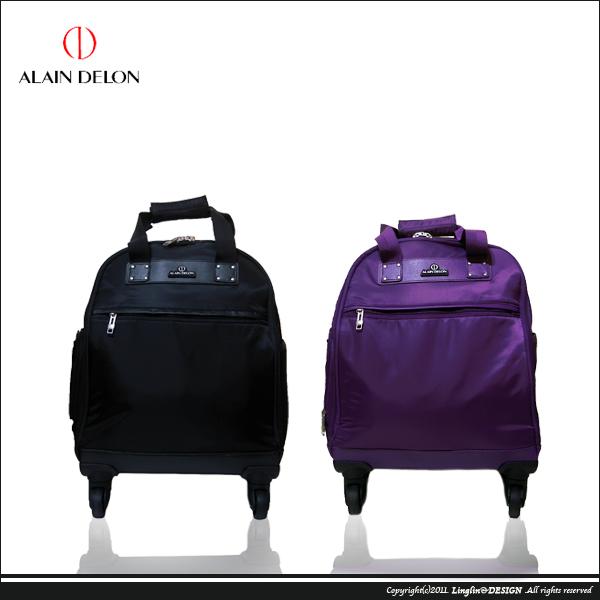 【ALAIN DELON】 16吋四輪多功能電腦拉桿箱/登機箱5216
