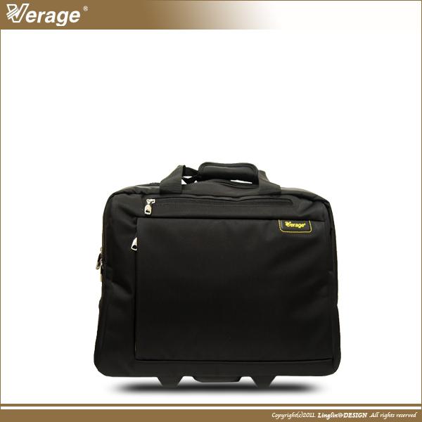 【Verage】 17吋超輕典雅橫式電腦拉桿箱/登機箱VG-X110