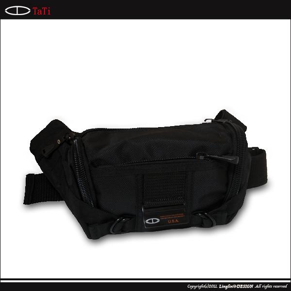 【TaTi】 橫式雙環造型腰包/斜跨包 8230