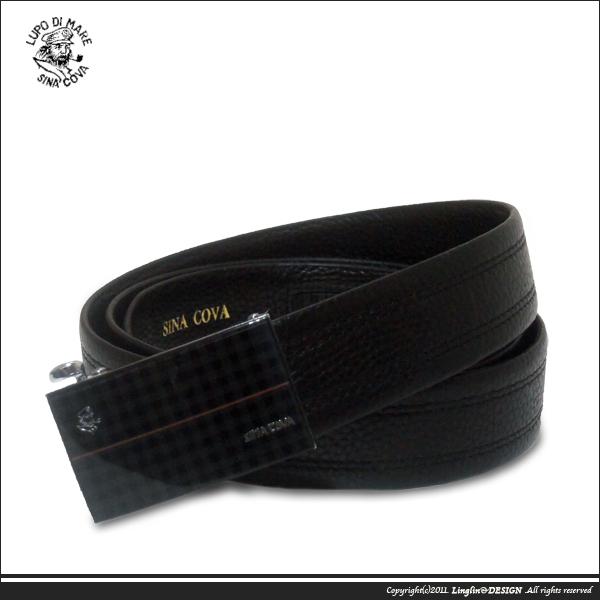【SINA COVA】老船長蘇格蘭紋紳士自動扣皮帶SC1079-1